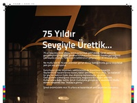 Atasay 75 year Ad Design
