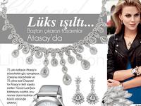 """Luxurious Sparkle"" Jewelry Advertorial"