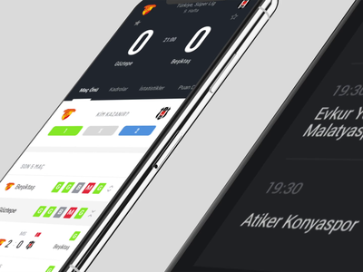 Ajansspor Mobile App sketchapp minimal app design iddaa futbol saran holding mobile app design sports app news app soccer app clean design clean ui app design mobile app erdem özkan