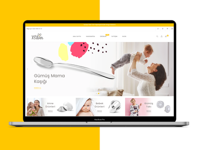 Xsilver eCommerce Design atasay jewelry typography ux design branding rightpage ui ecommerce design web design ecommerce xsilver