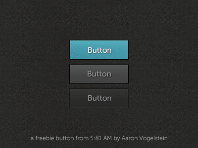5:81 AM Button including .psd button free psd download freebie blue grey dark