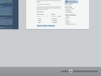 Lower toolbar