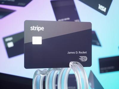 Stripe Corporate Card 3d