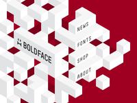Boldface Site Experiment #2