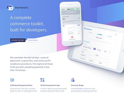 stripe.com/payments web