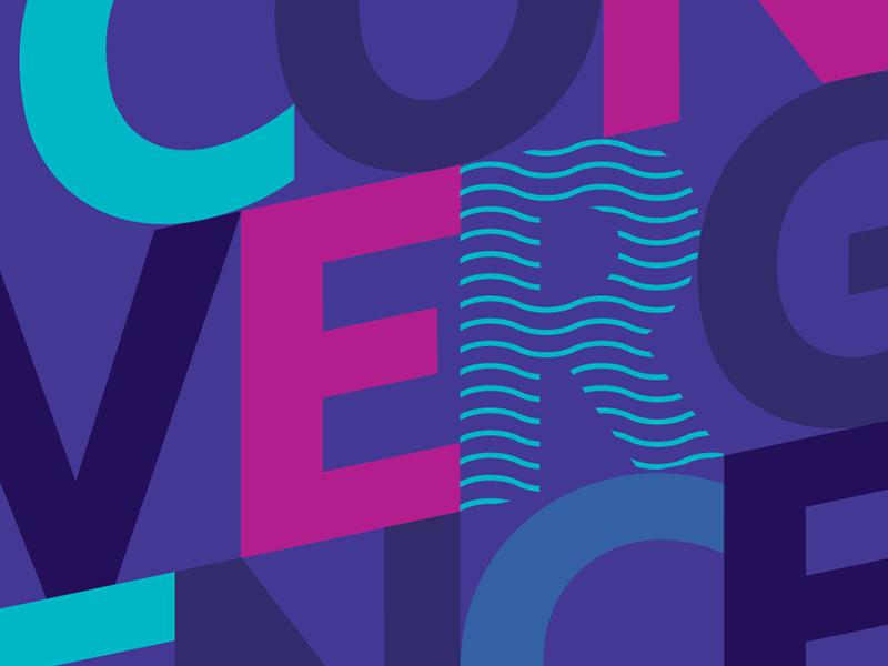 Convergence 2016 print logo