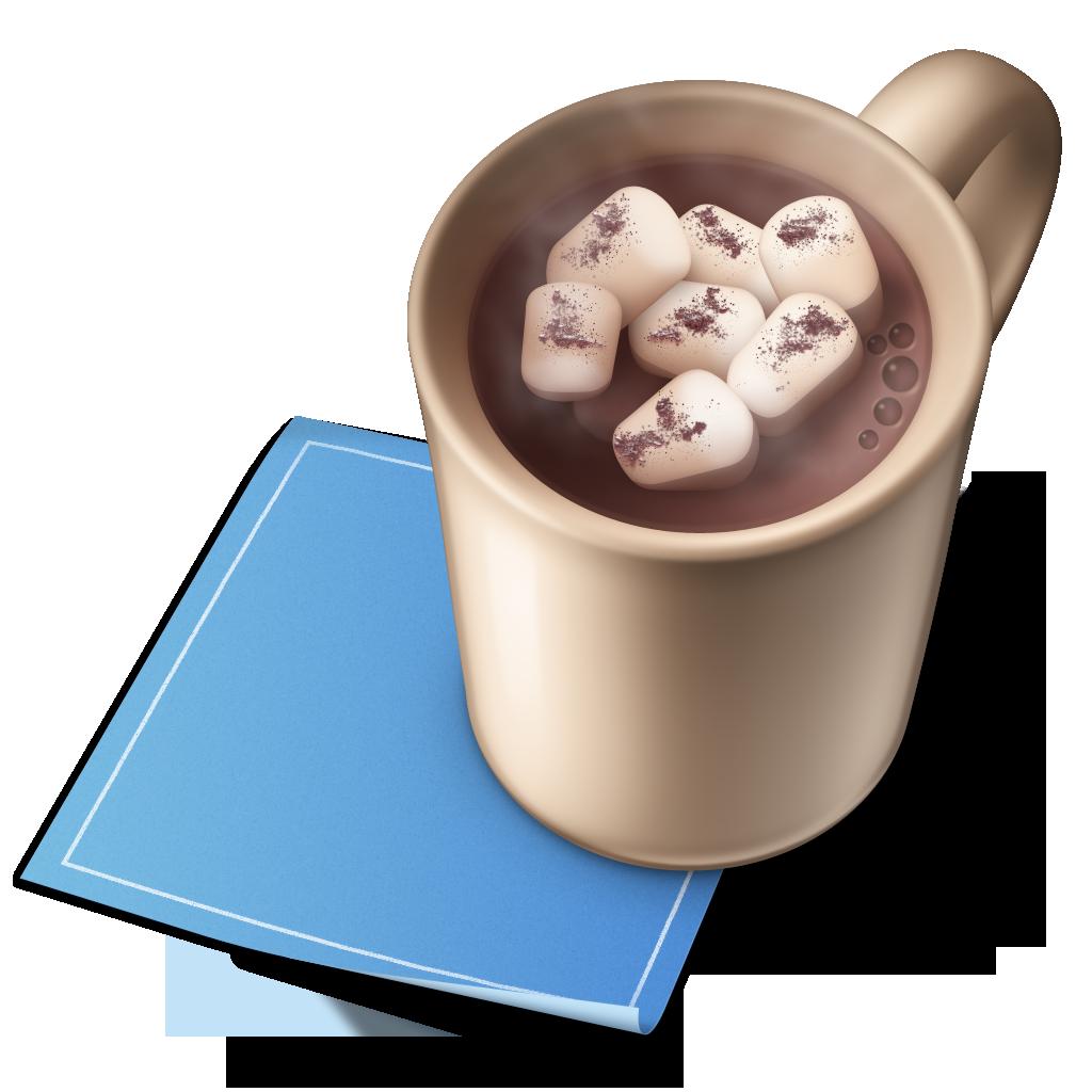 Cocoa mug with blueprint