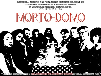 Morto-Domo film poster poster cinema film vector illustration graphic design