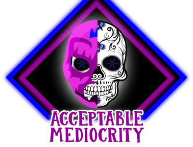 """Acceptable Mediocrity"" Custom Logo branding logo icon vector illustration design graphic design"