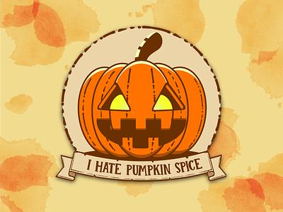 In the spirit of Halloween... pumpkin halloween typography icon branding illustration vector design graphic design