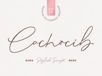 Cochocip Script Latin Pro