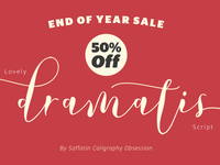 Lovely Dramatis Fonts