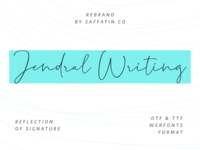 Jendral Writing Dribbble
