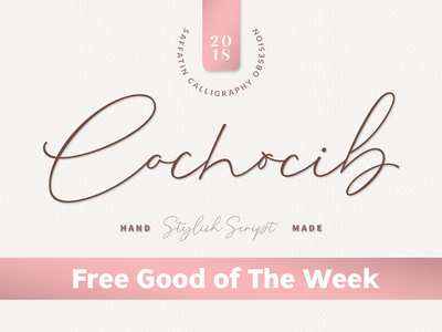 Free Cochocib Script Fonts