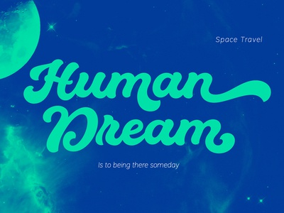 WE ARE A DREAMER!