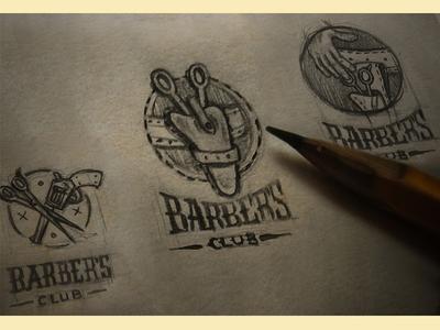 barber's sketch