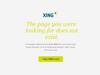 Simple 404 page (Flat Design)