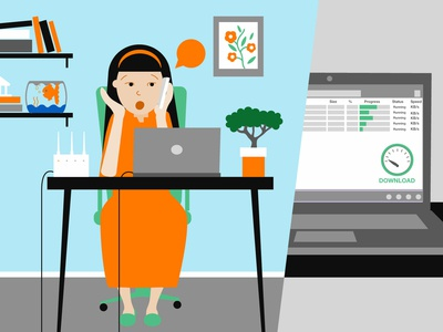 2' Video Animation - Character illustration explainer video video marketing 2d video animation vector illustration character illustration video animation