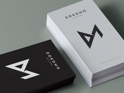 Dokomo Motors Business Cards
