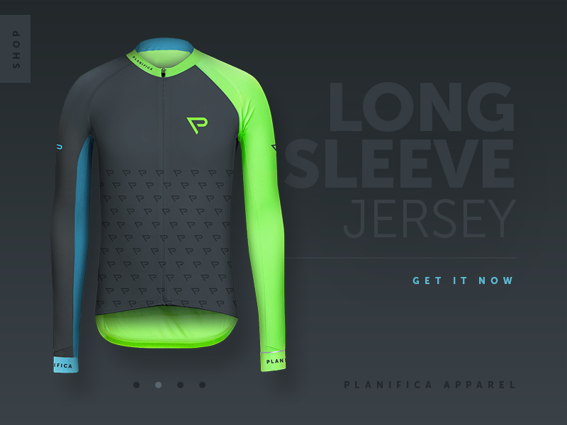 Long sleeve jersey shop module