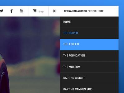 Fernando Alonso Official Website Navigation Detail 03