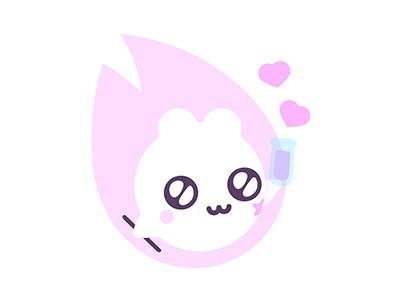 Mitsuko stickers for Sticker.Place love stickers pack mitsuko magical imessage flames emotions emoji creature chat character