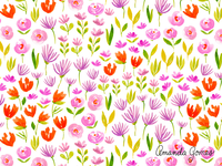 Flower Field Pattern