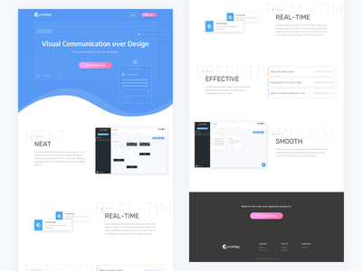 Visual Communication over Design design teams designers project management tool crumby