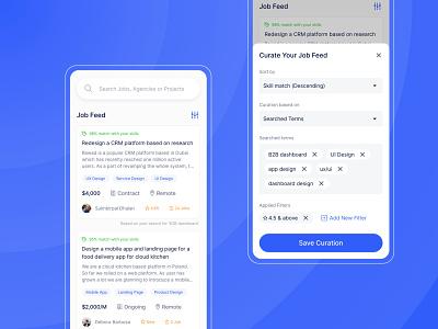 Taskies - a Taskers' platform ios app design uiux ux ui platform filters listing feed app design job listing job board product design ux design ui design mobile app design