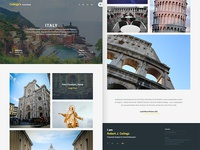 Colingz's Travel Book [Free PSD]