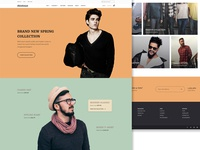 Zhishimai - Ecommerce Website Concept