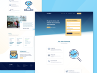 SEO Services Landing Page