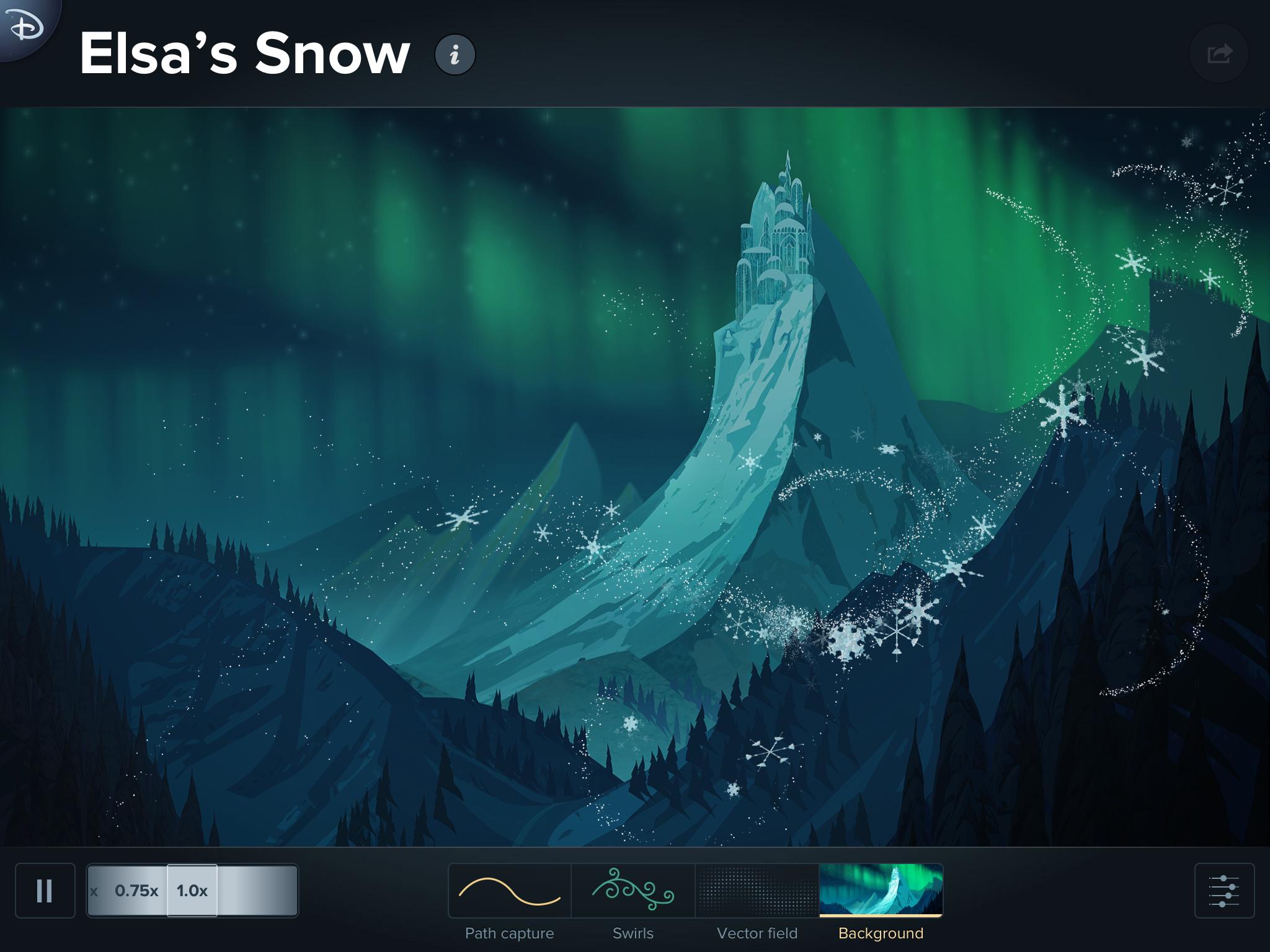 Snow segmented all