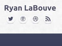 RyanLaBouve.com | Landing Page