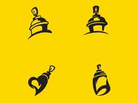 Spray Can Logo Concepts