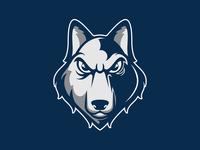 Husky Logo Design