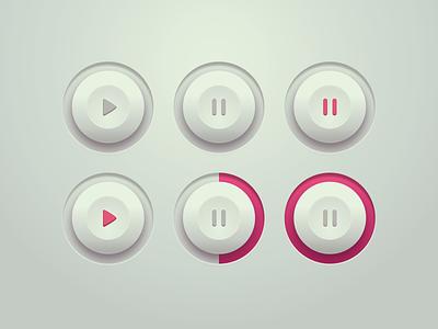 Toggle Button Design concept digitalart vector gradient design button design product design flat 3d flat design switch toggle design ui sketch