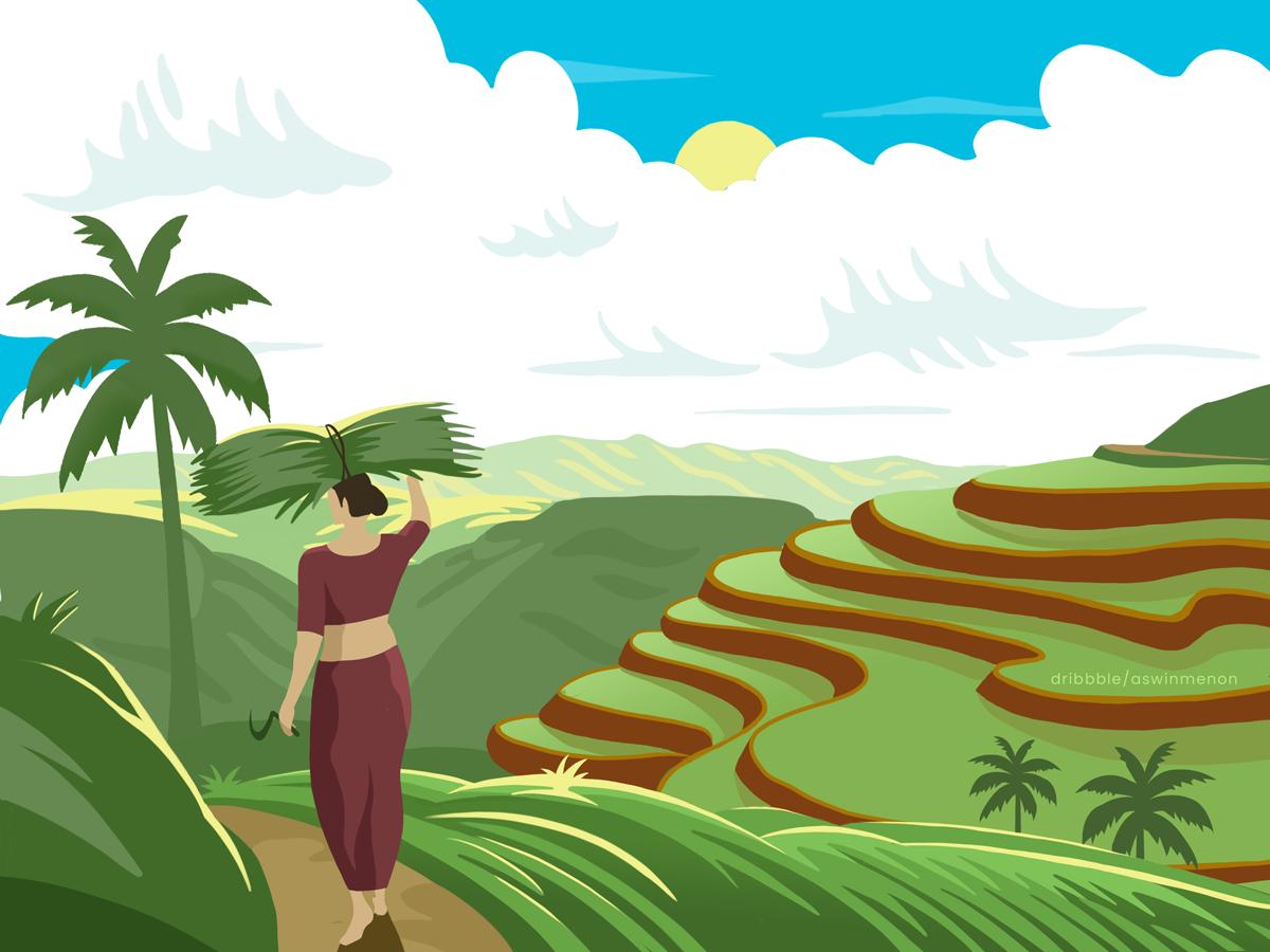 Discovering Kerala by Aswin Menon on Dribbble