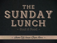 The Sunday Lunch | Identity 1