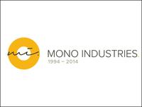 Mono Industries 20th anniversary identity
