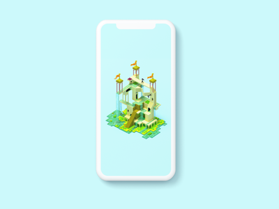 Free wallpapers android iphone wallpapers free freebie creative illustration monument valley magicavoxel voxelart voxel3d voxel architecture 3d 3dart monumentvalley