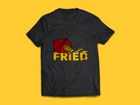 Fried Tshirt mock