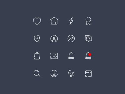 Icon set - Freebie