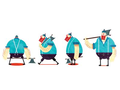 lumberman design character