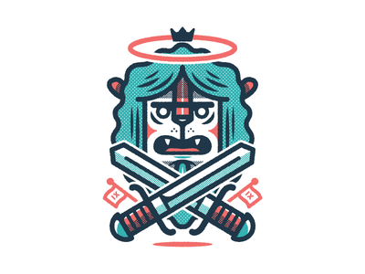 carry on wayward son  shirt tee nghiem william illustrator illustration tone half vector lion