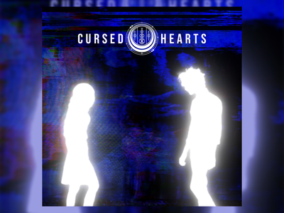 Cursed Hearts illustration design poster design poster artwork graphic design graphic art cover art