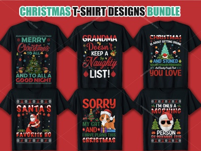 Christmas T Shirt Design Bundle. t shirt design free merchbyamazon design graphic fashion etsy merch by amazon