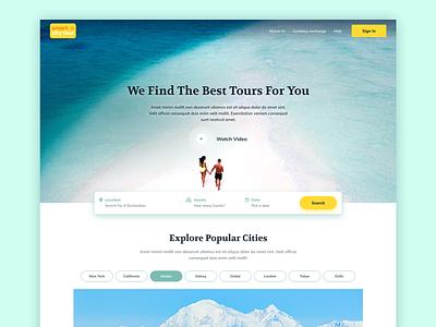 Travel Guide Website Design travel website booking form booking website travel booking travel guide