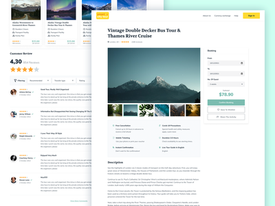 Booking Form; Review Page review page rating system testimonials review hotel booking travel website travel guide travel booking booking website booking form
