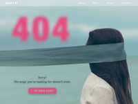 008 // 404 Page